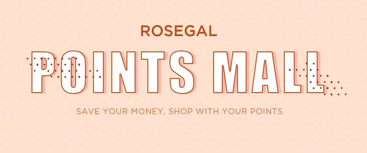 Rosegal points banner